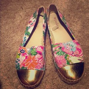 Lilly Pulitzer Espadrille Slip-on Shoes
